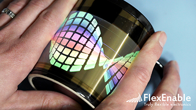 The role of flexible displays and flexible sensors