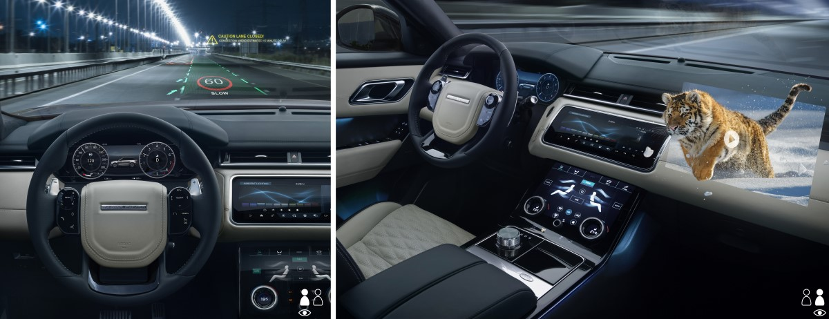 JLR 3D auto display